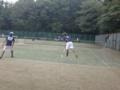 男子試合風景➀ (左から…伊藤・北野)