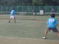 男子試合風景➁ (左から…中村・鈴木)