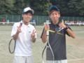 男子試合後➀(左から…伊藤・北野)