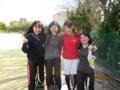 ピ~~ス(左から川野さん、中津原さん、河津さん、茂苅さん)