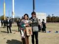 イケメン好き♡(左から土川さん、吉田)