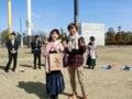 卒業おめでとうございます(左から茂苅さん、青木)