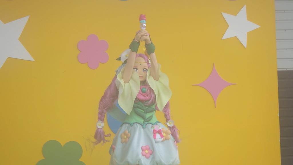 軽井沢おもちゃ王国の『魔法つかいプリキュア!』ショーの様子