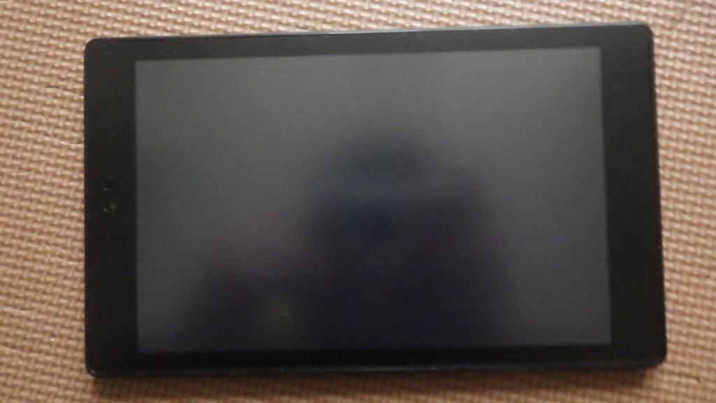 ノングレア(アンチグレア)フィルムを貼った「Kindle FIre HD 8」の画面