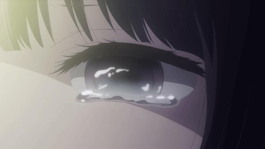 アニメ『クズの本懐』の安楽岡花火の涙