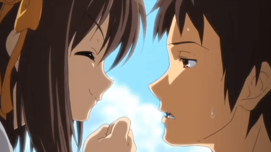アニメ『涼宮ハルヒの憂鬱 第2期』の涼宮ハルヒとキョン