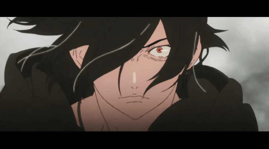 映画『傷物語 Ⅱ熱血篇』のスクリーンショット