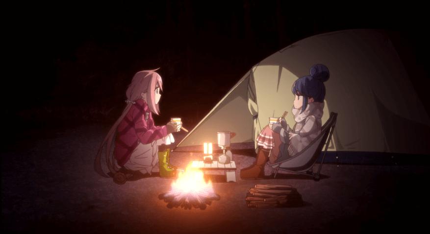 アニメ『ゆるキャン△』の志摩リン