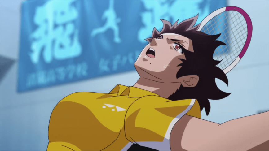 アニメ『はねバド!』のスクリーンショット