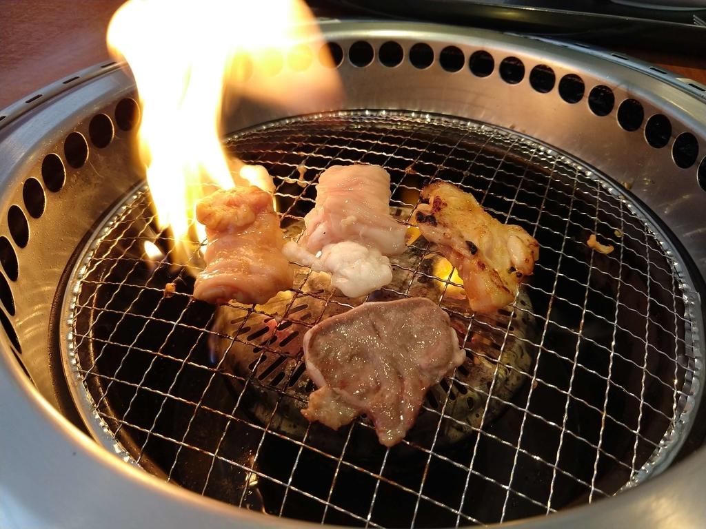 すたみな太郎のバイキングの焼き肉