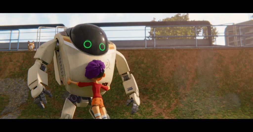 Netflixオリジナル映画『ネクスト ロボ』のスクリーンショット