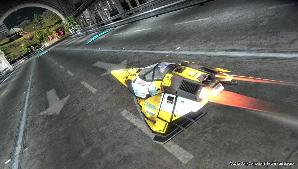 『WipEout(R) 2048』のプレイ画面
