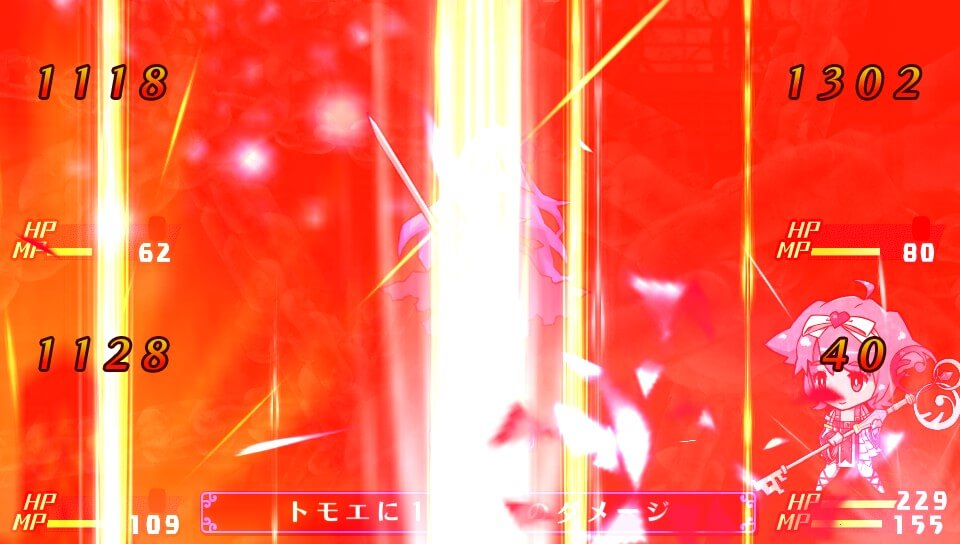 『クリミナルガールズ INVITATION』のヒメカミの影のオーバージェラス