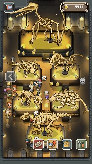 スマホゲーム『ボクと博物館』