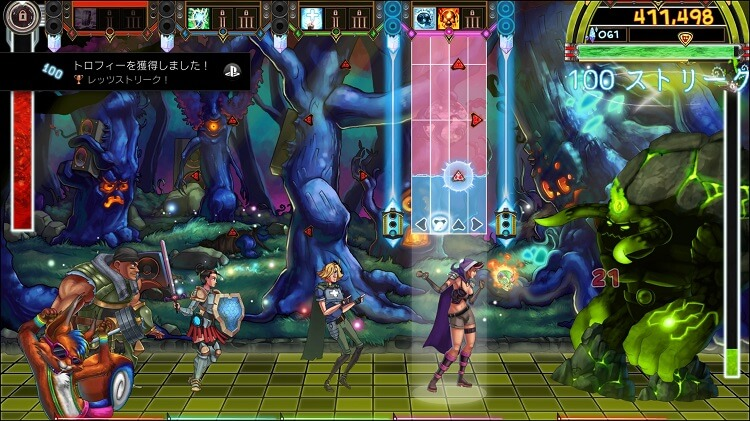 PS4『The Metronomicon: Slay the Dance Floor』