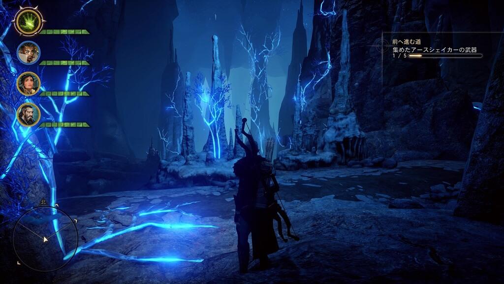 PS4『ドラゴンエイジ:インクイジション』DLC「地底世界」