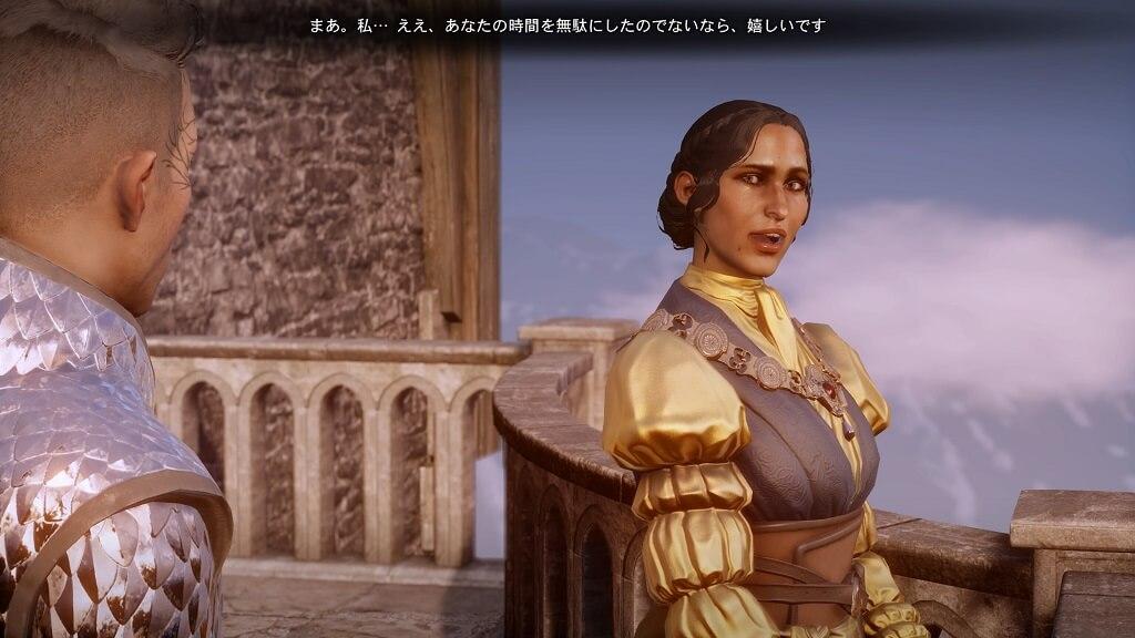 PS4『ドラゴンエイジ:インクイジション』のジョゼフィーヌ