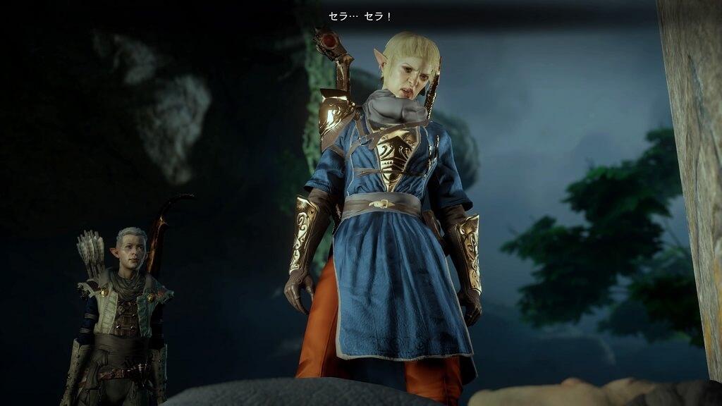 PS4『ドラゴンエイジ:インクイジション』のセラ