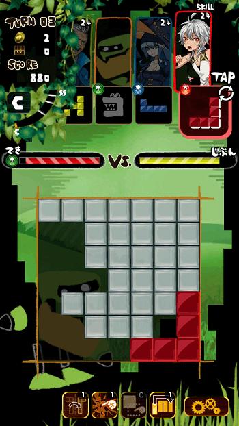 スマホゲーム『ワンダーブロック』
