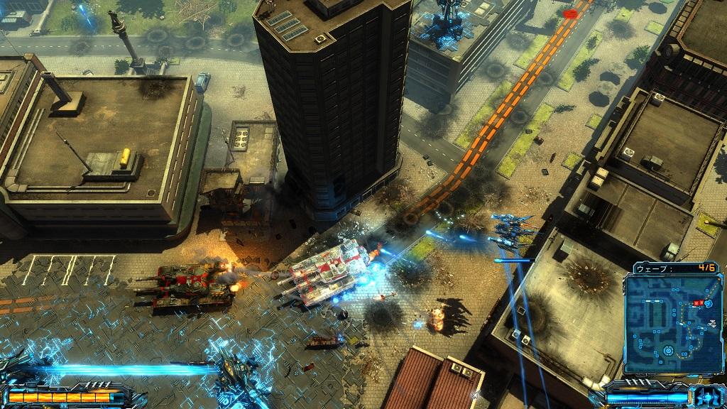 PS4『X-Morph:Defense(エックス モーフ:ディフェンス)』