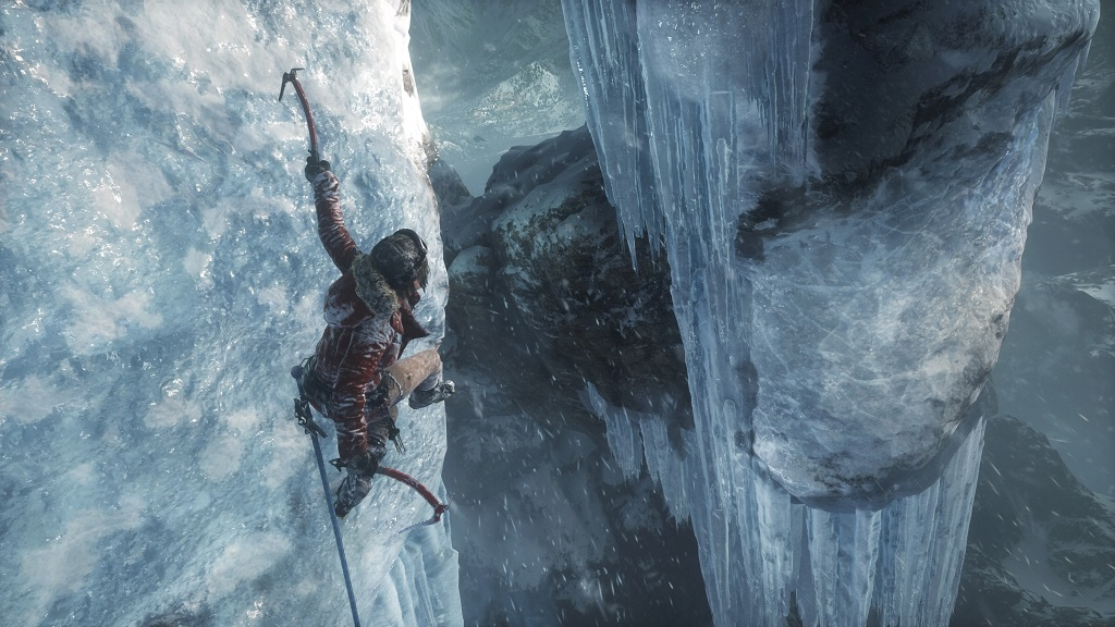PS4『Rise of the Tomb Raider』