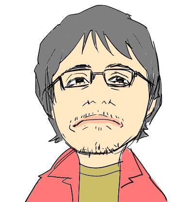 奥田民生の似顔絵イラスト.2
