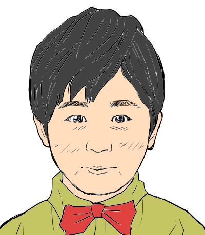 鈴木福の似顔絵イラスト.1