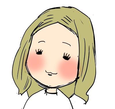 西野カナの似顔絵、見ないで描く
