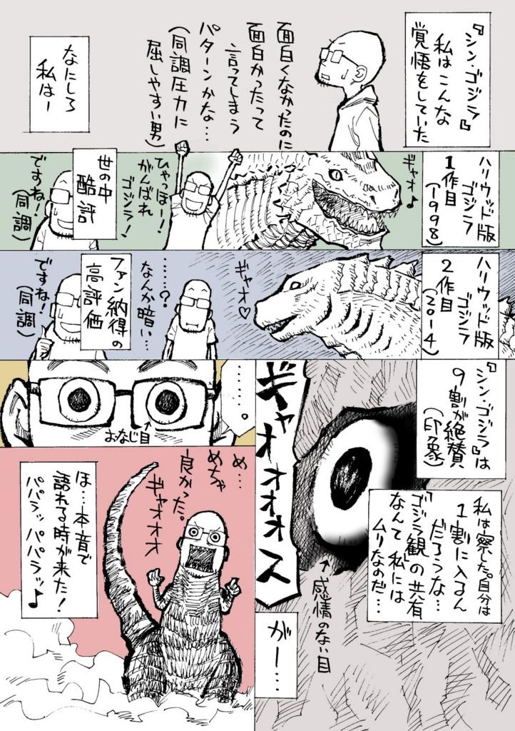 シンゴジラの漫画