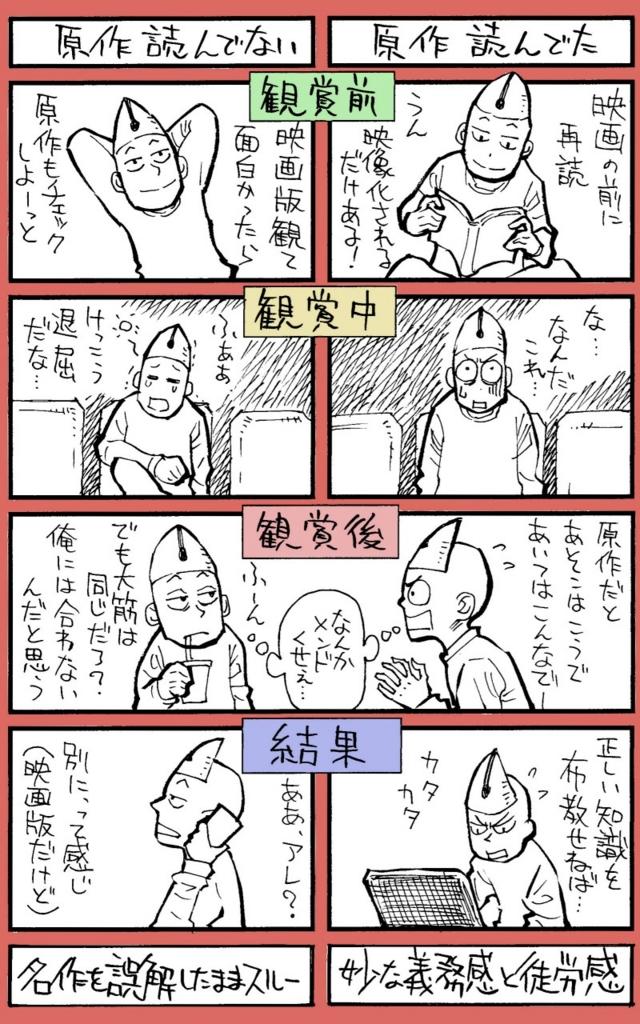 漫画の実写化についての漫画