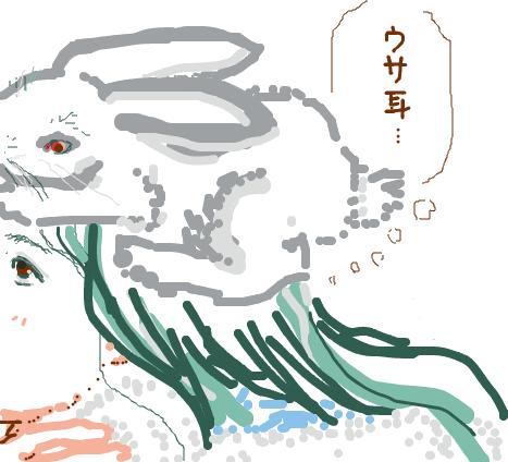 ウサ耳が描きたかった