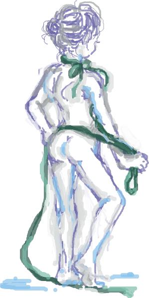 はてなハイカーさん、全裸にリボンだけ巻いてる女の子のイラスト欲し