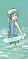 はてなハイカーさん、暑くなってきたし水着少女のイラスト欲しい![