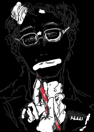 はてなハイカーさん、眼鏡っ男のイラスト欲しい!