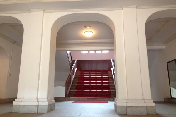 海上自衛隊呉地方総監部第1庁舎 入口