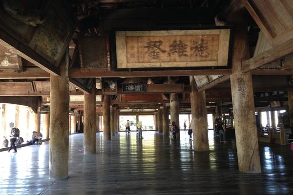豊国神社 内部