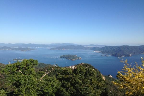 宮島 山頂 景色