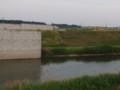 県道東松山鴻巣線「新市野川橋」建設中