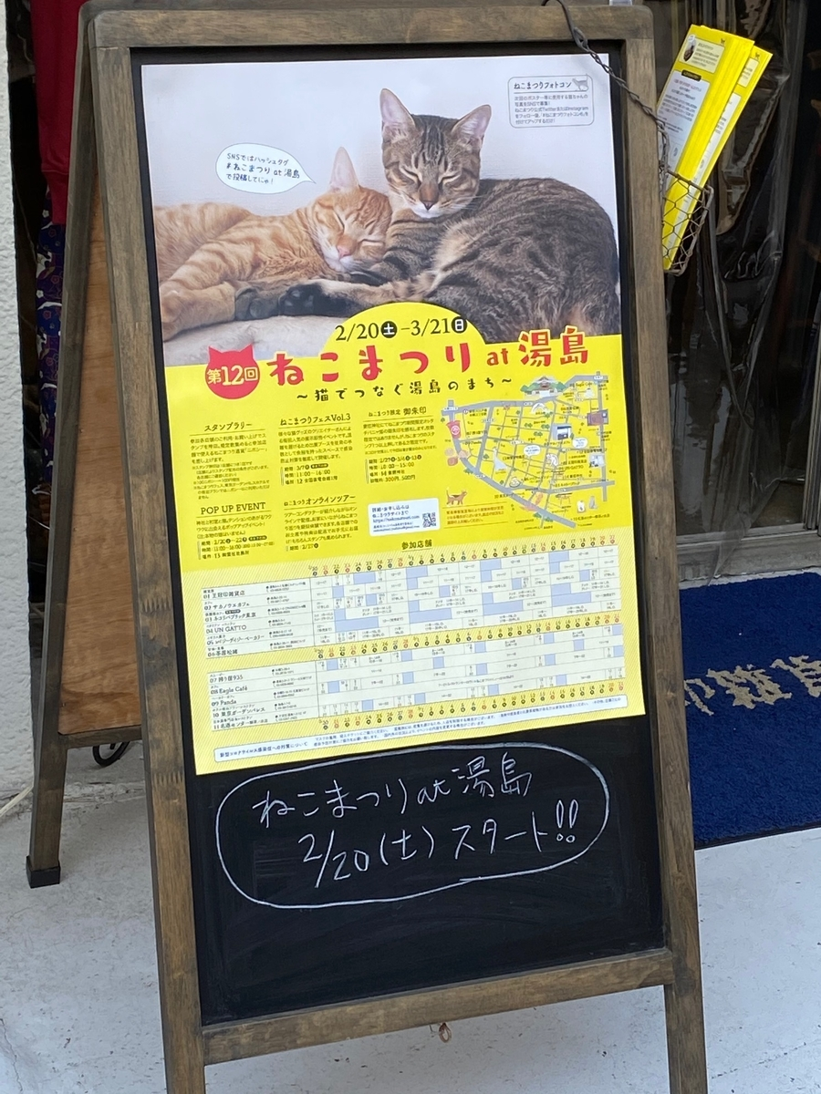 ネコのお告げ_神社仏閣_カフェめぐり_湯島ねこまつり_2021022201