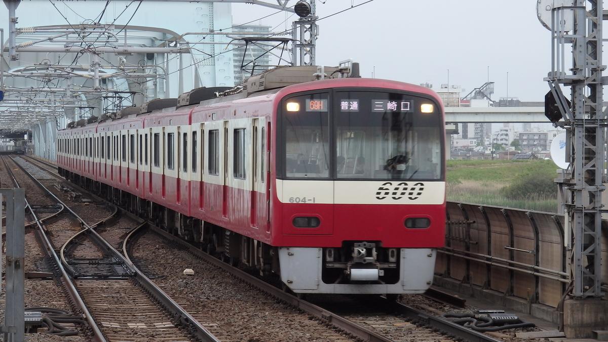 京急600形604編成