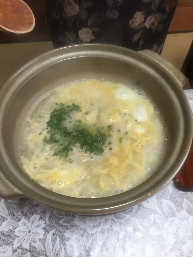 ふぐ鍋雑炊