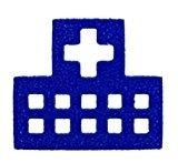 フリクションスタンプ 【病院】インキ色:ブルー SPF1220L