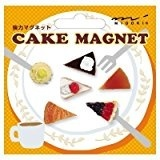 ミドリ OJ ミニマグネット(6個入) ケーキ