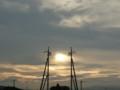 [雲][ハイク]夕陽の写真