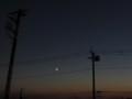 [月][ハイク]黄昏部