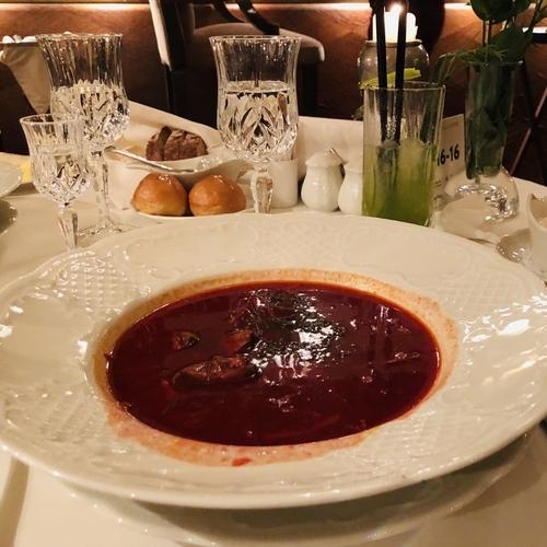 ボルシチスープ