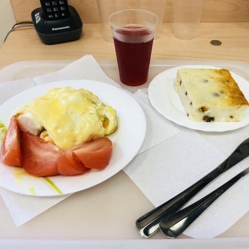 ロシアの米国系病院での入院食