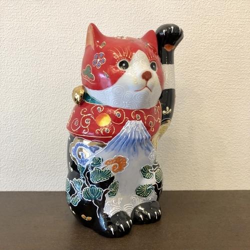 九谷焼の招き猫