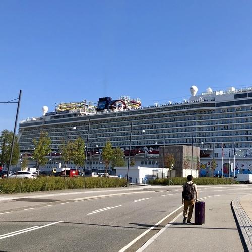 ノルウェージャンブレイクアウェイ(コペンハーゲン港)