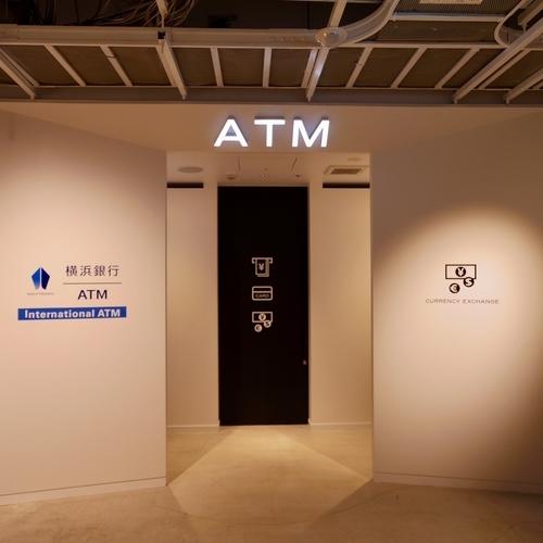 International ATMと外貨両替機